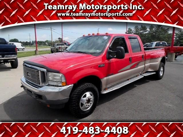2002 Ford F-350 SD XLT Crew Cab Long Bed 4WD DRW