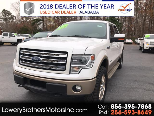 2013 Ford F-150 King Ranch SuperCrew 6.5-ft. Bed 4WD
