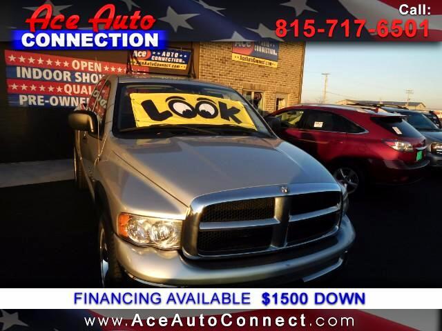 2005 Dodge Ram 1500 4WD Quad Cab 140.5