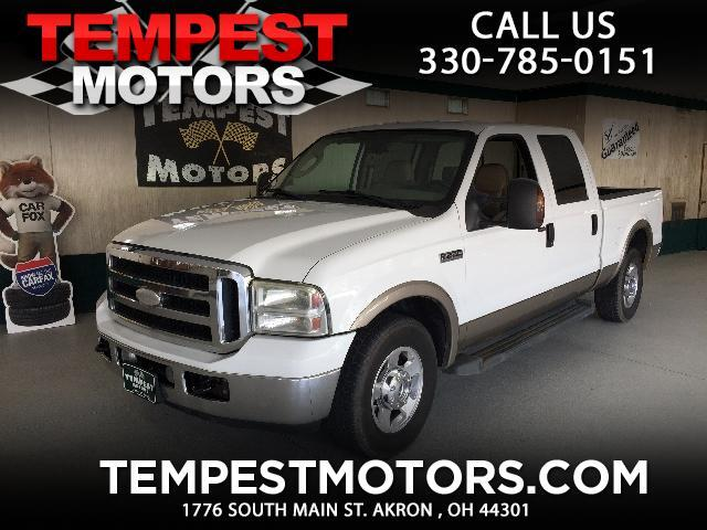 2006 Ford F-250 SD Lariat Crew Cab Short Bed 2WD