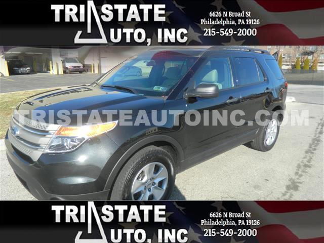 2013 Ford Explorer Utility 4D 4WD