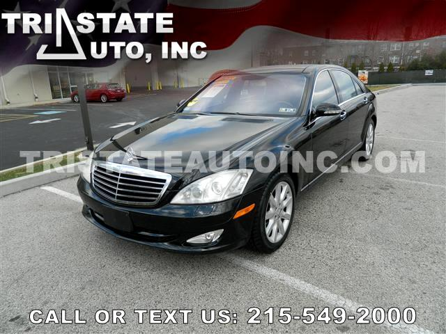 2008 Mercedes-Benz S-Class Sedan 4D S550 V8