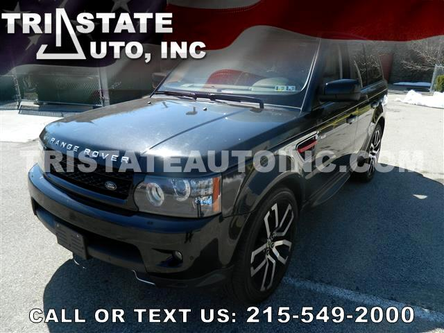 2010 Land Rover Range Rover Sport Utility 4D Supercharged 4WD