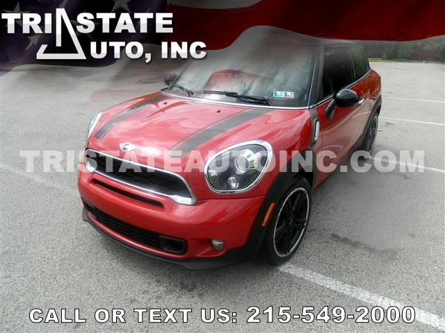 2013 MINI Paceman Coupe 2D Paceman S I4 Turbo