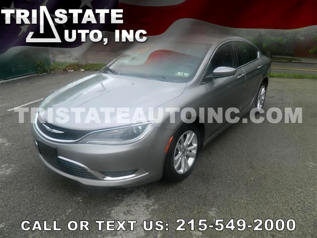 2015 Chrysler 200 Sedan 4D Limited I4