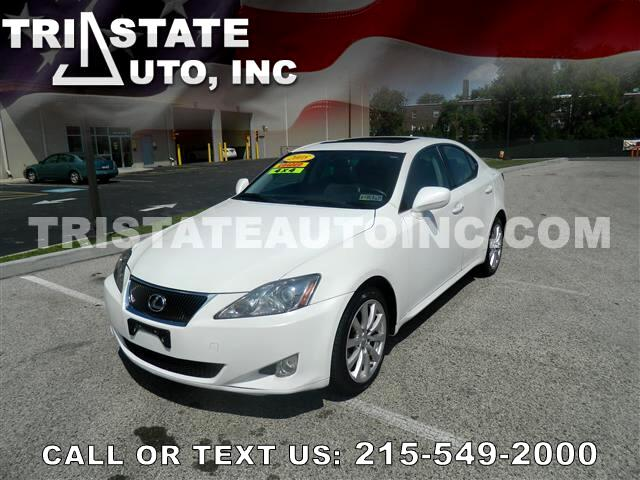 2008 Lexus IS Sedan 4D IS250 AWD