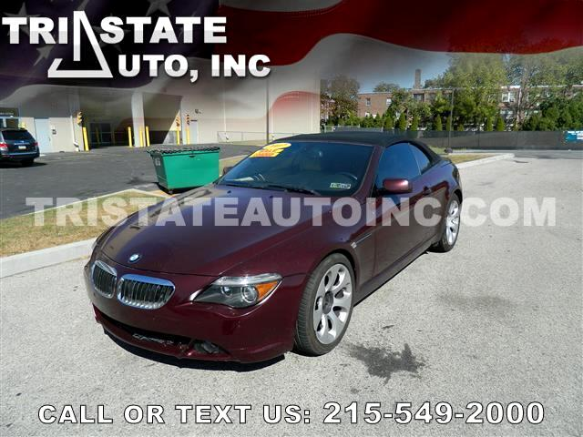 2007 BMW 6-Series Convertible 2D 650i