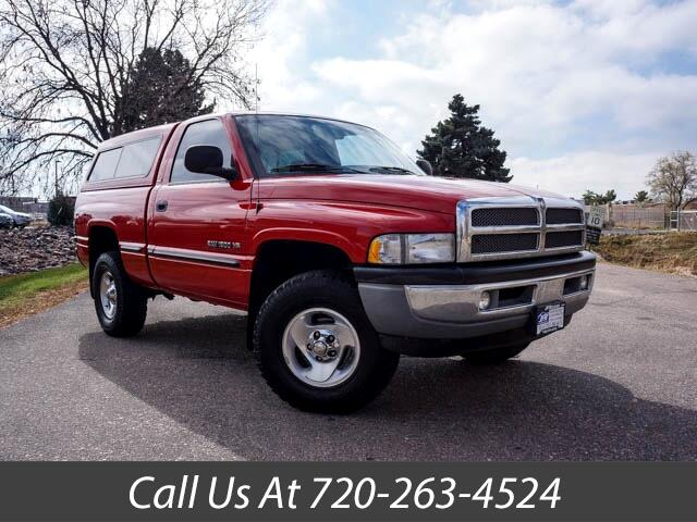 1999 Dodge Ram 1500 SLT Laramie Regular Cab Short Bed 4WD