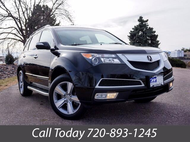 """2012 Acura MDX Tech Package """"SH"""" AWD"""