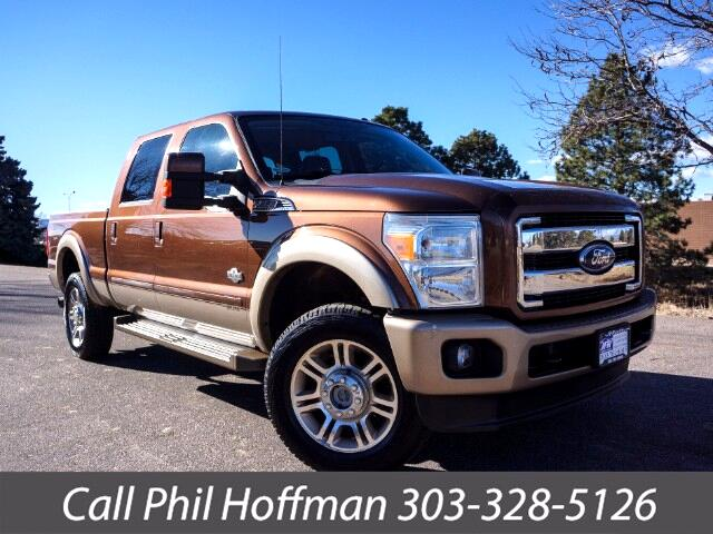 2011 Ford F-250 SD King Ranch Crew Cab 4WD