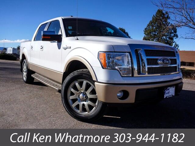 "2011 Ford F-150 4WD SuperCrew 157"" King Ranch"