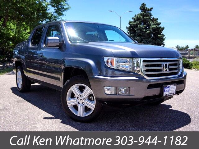 2014 Honda Ridgeline RTL w/ Leather and Navigation