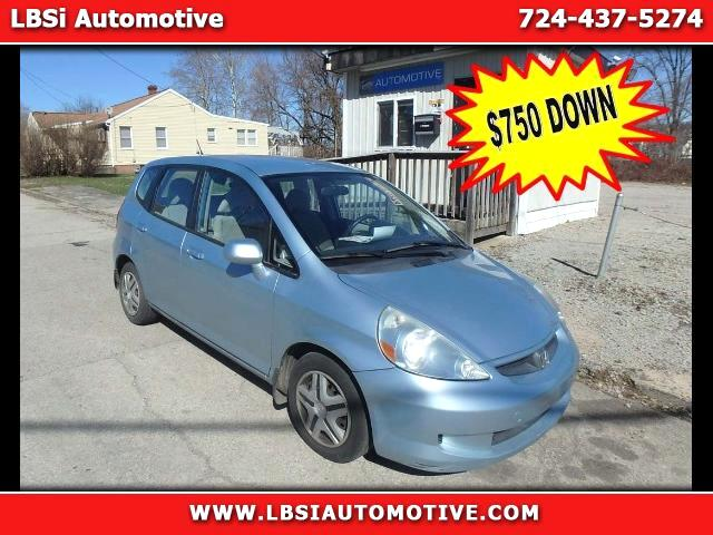 2007 Honda Fit 5-Speed AT