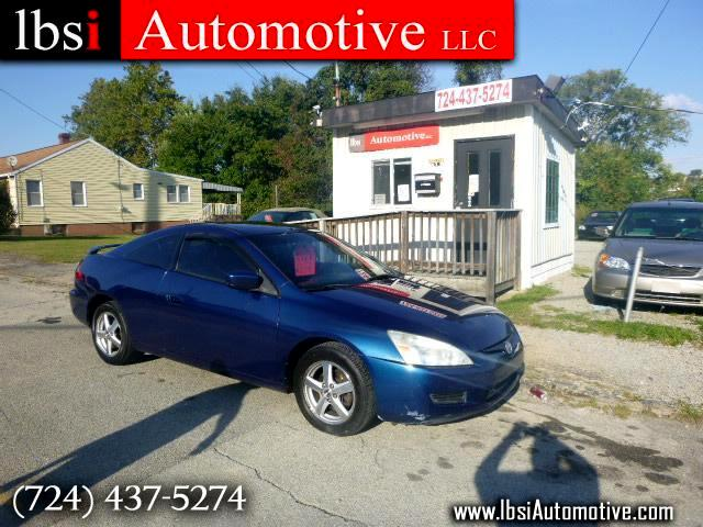 2004 Honda Accord EX Coupe AT with Leather and Navigation System and