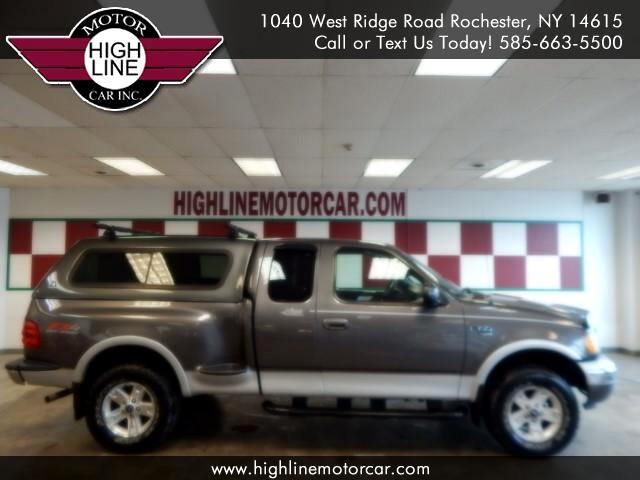 "2003 Ford F-150 4WD SuperCab 133"" Lariat"