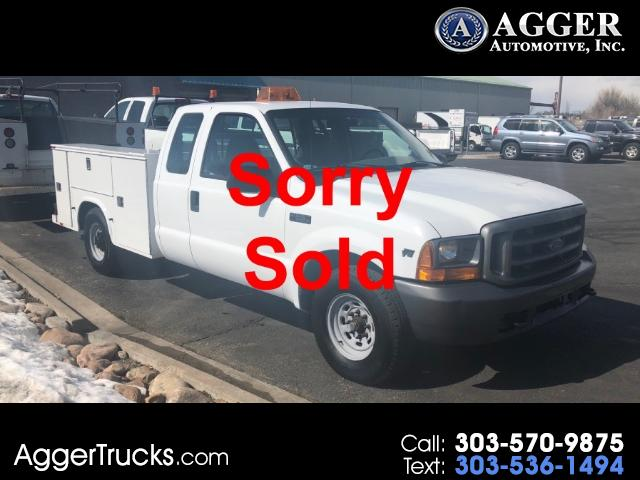 2001 Ford F-250 SD Lariar SuperCab Long Bed Utility 2WD