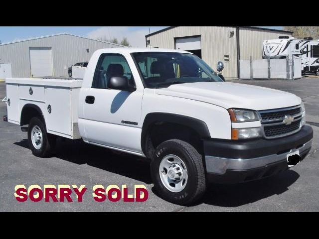 2006 Chevrolet Silverado 2500HD 8FT ROYAL SERVICE UTILITY TRUCK