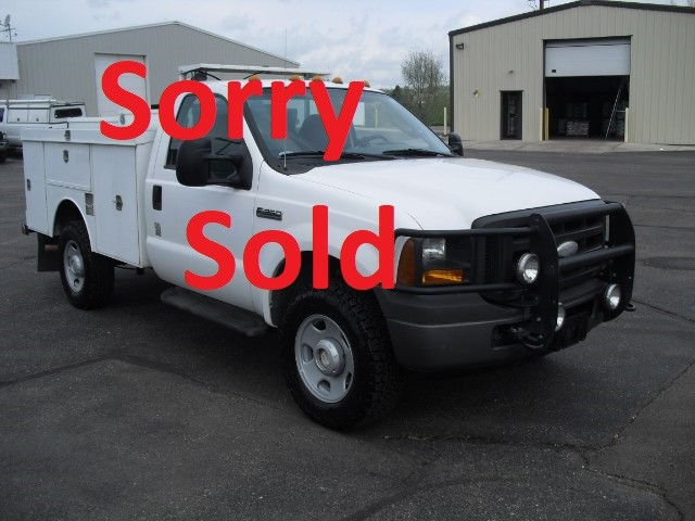 2005 Ford F-350 SD 9FT Phenix Enclosed Steel Utility Body