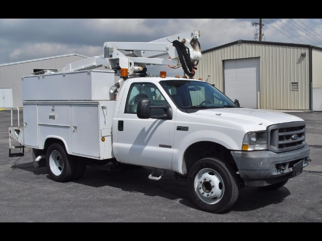 2003 Ford F-450 SD ALTEC AT35G 40FT articulated/telescopic Bucket Tru