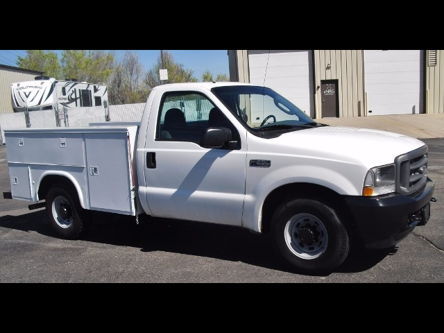 2003 Ford F-250 SD XL 8FT SERVICE UTILITY BODY