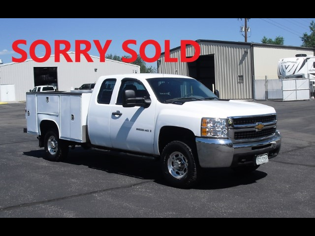 2008 Chevrolet Silverado 2500HD 8' EXT CAB SERVICE UTILITY TRUCK~TOMMYGATE~FROM CI