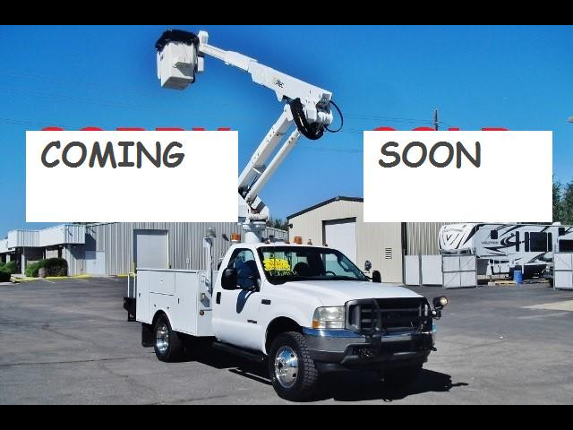 1999 Ford F-450 SD Altec AT35G, 40 ft, Articulating & Telescopic Buck