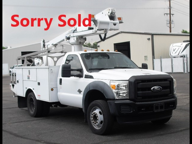 2011 Ford F-450 SD Altec AT235, 40 ft, Articulating & Telescopic Non-