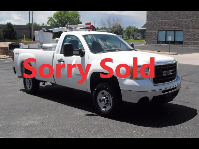 2009 GMC Sierra 2500HD 8FT Longbed 4x4 Pick- Up Truck