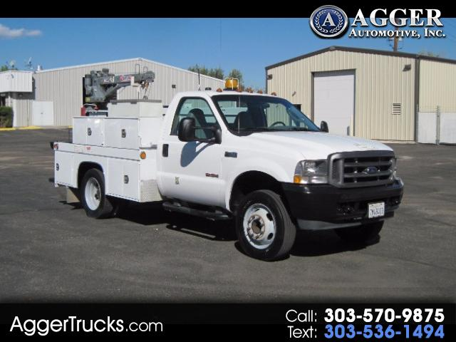 2004 Ford F-550 10FT UTILITY TRUCK w/2200# CRANE~FROM SOUTHERN CAL