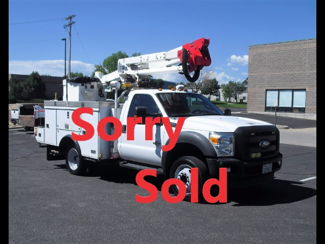 2011 Ford F-550 42FT ARTICULATED/TELESCOPIC BUCKET TRUCK 6.7L CERT