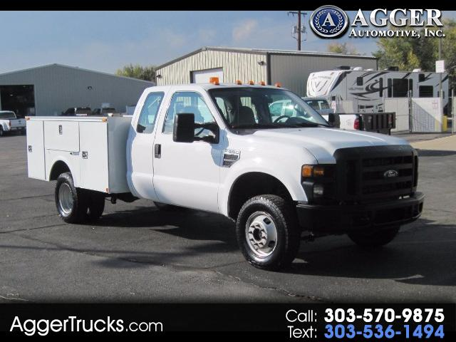 2008 Ford F-350 SD 9FT SERVICE UTILITY TRUCK DUALLY