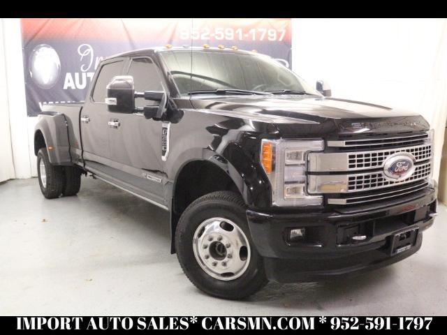 2017 Ford F-350 SD PLATINUM CREW CAB LONG BED DRW 4WD