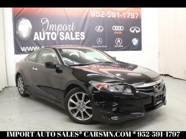 2012 Honda Accord EX-L V-6 Coupe 6-Spd with Navigation