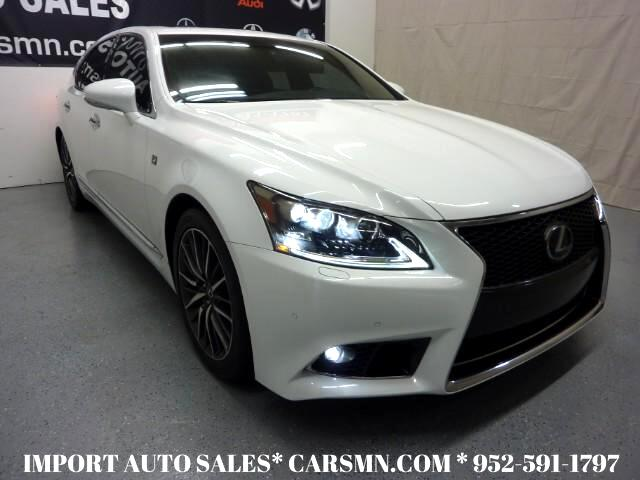 2013 Lexus LS 460 Luxury Sedan F-Sport