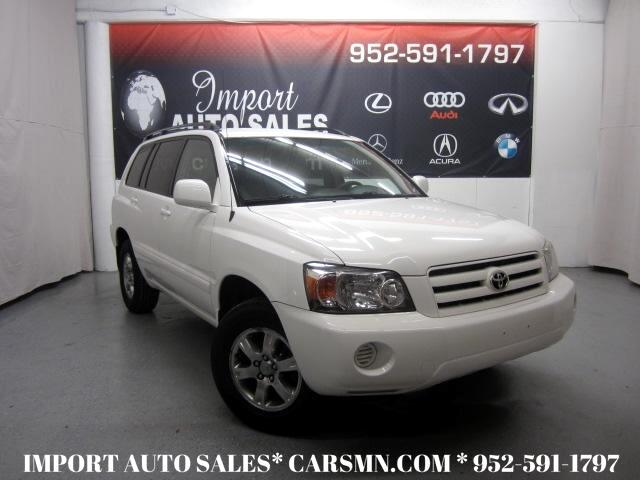 2007 Toyota Highlander V6 4WD with Third Row Seat