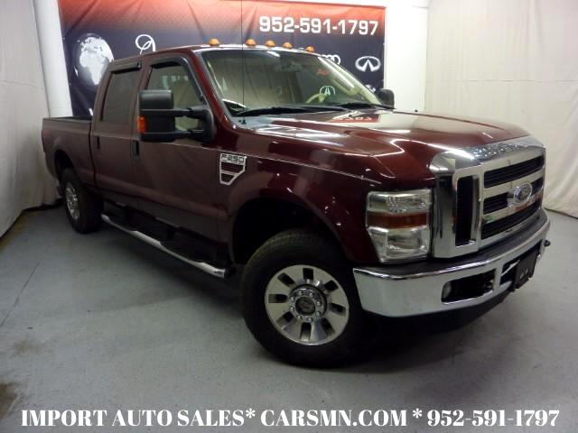 2009 Ford F-250 SD Lariat Crew Cab Long Bed 4WD
