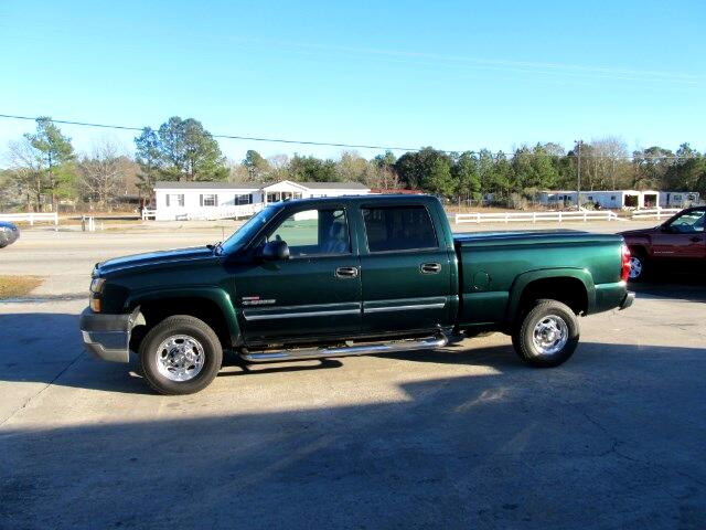 2005 Chevrolet Silverado 2500HD Work Truck Crew Cab Short Bed 2WD
