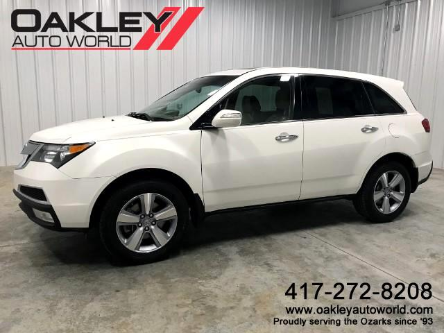 2012 Acura MDX AWD w/Tech Package