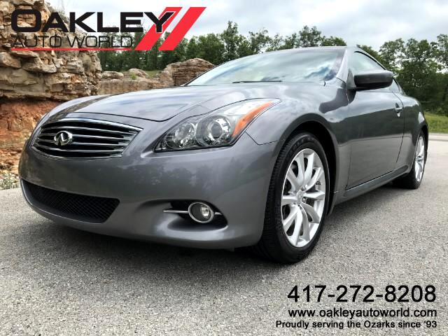 2012 Infiniti G Coupe Journey