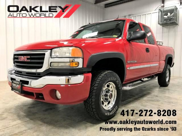 2005 GMC Sierra 2500HD SLT Ext. Cab Short Bed 4WD