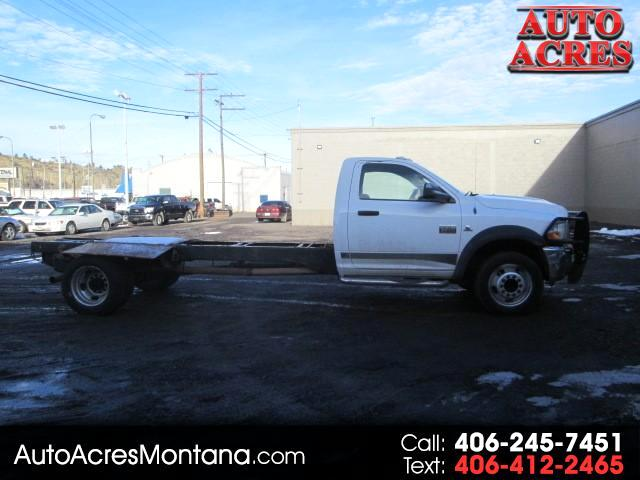 2011 Dodge Ram 5500 REGULAR CAB 4X4