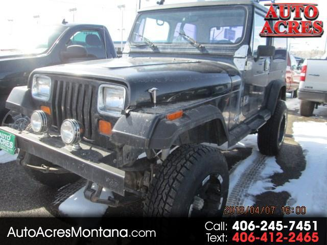 1990 Jeep Wrangler Soft Top