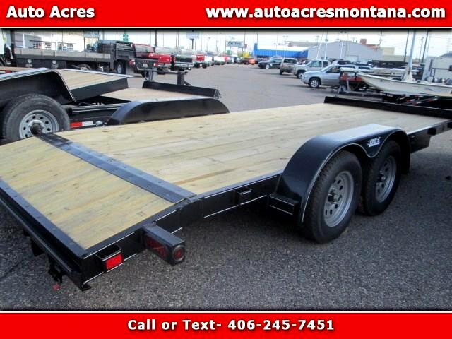 2017 DCT Trailer 7X18 CAR HAULER