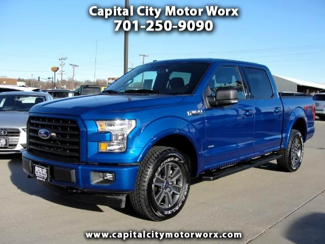 2017 Ford F-150 XLT FX4 SuperCrew 5.5-ft. Bed 4WD