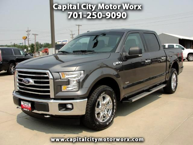 2017 Ford F-150 XLT SuperCrew 5.5-ft. Bed 4WD