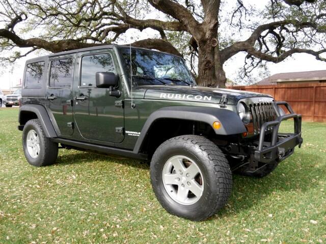 2011 Jeep Wrangler Unlimited Rubicon 4WD