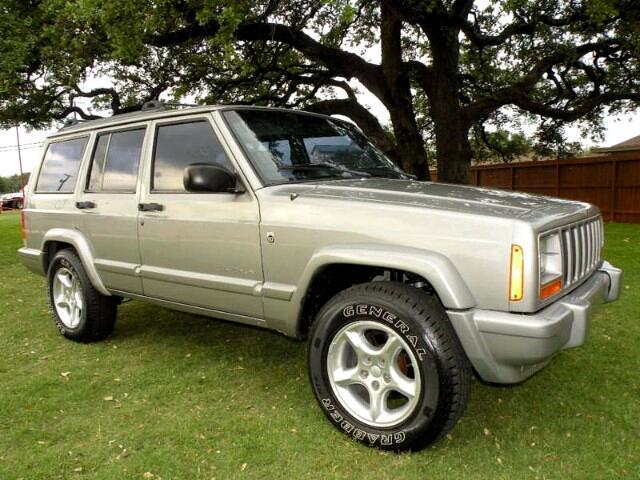 2001 Jeep Cherokee Sport 4-Door 4WD