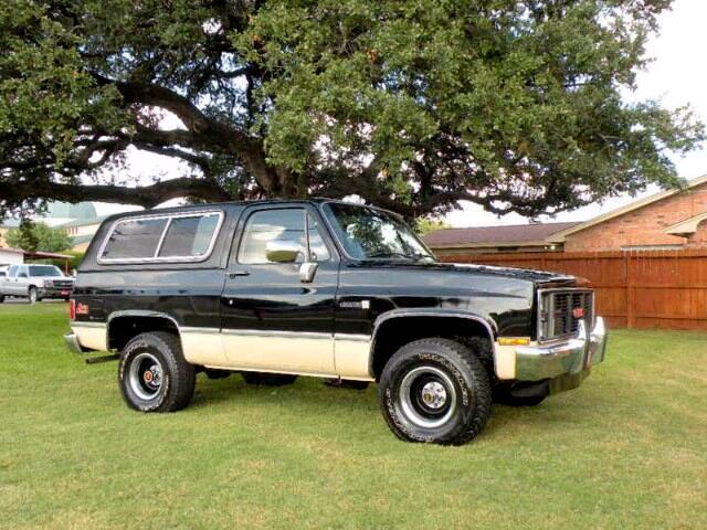 1986 GMC Jimmy C/K 1500 Sierra 4WD