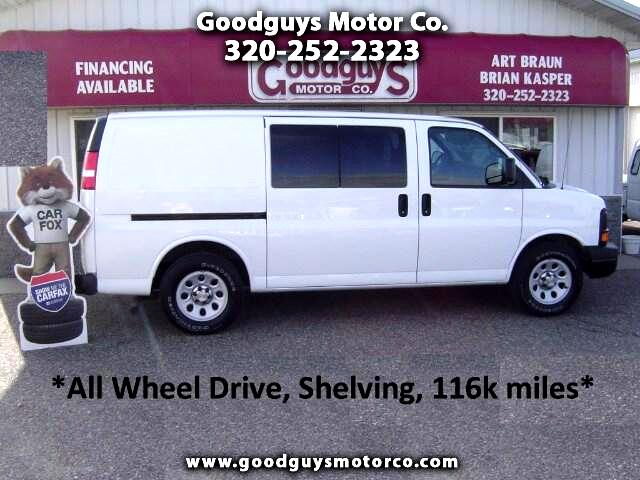 2012 Chevrolet Express 1500 AWD Cargo