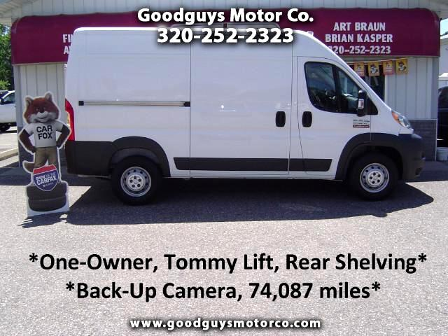 2015 RAM Promaster 2500 High Roof Tradesman 136-in. WB